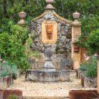 Fontaine du potager Les jardins de la Chartreuse du Colombier