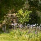 grille du grand jardin Les jardins de la Chartreuse du Colombier