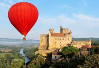 Ballonvaren en kastelen