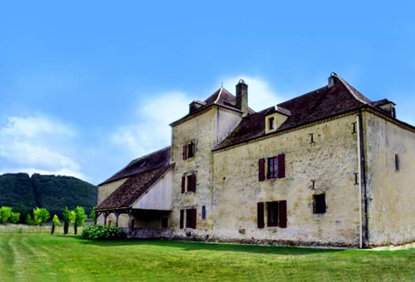 De huizen van de kastelen van de Périgord Noir